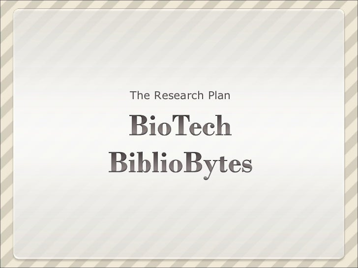 BioTech BiblioBytes