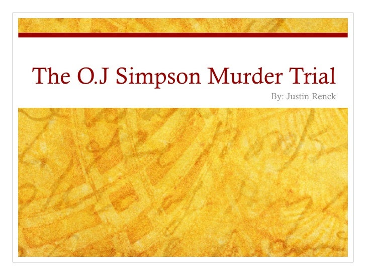 Simpson Murder Trial