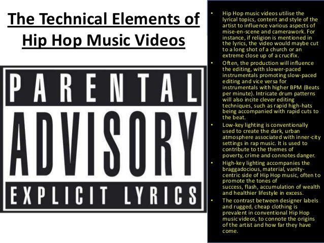 Essay Paper on Hip-hop Music