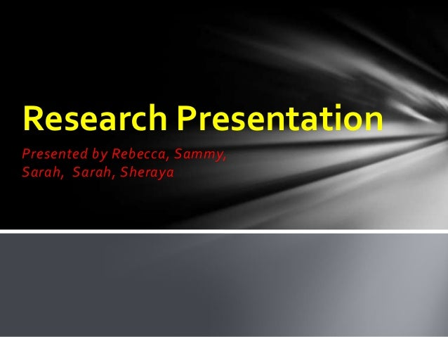 Research Paper Powerpoint