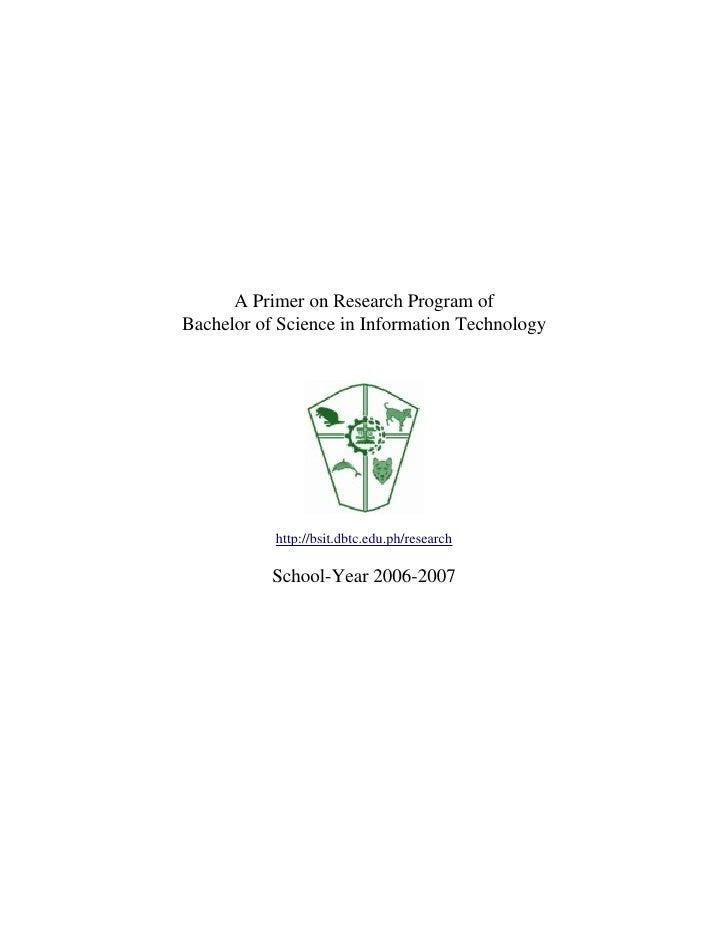 Research Primer