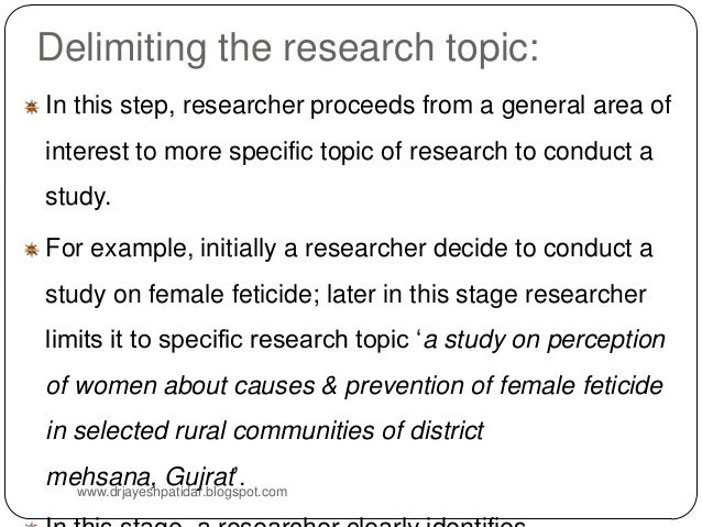 I need help choosing a research topic idea please?