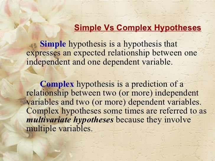 A hypothesis is best described as