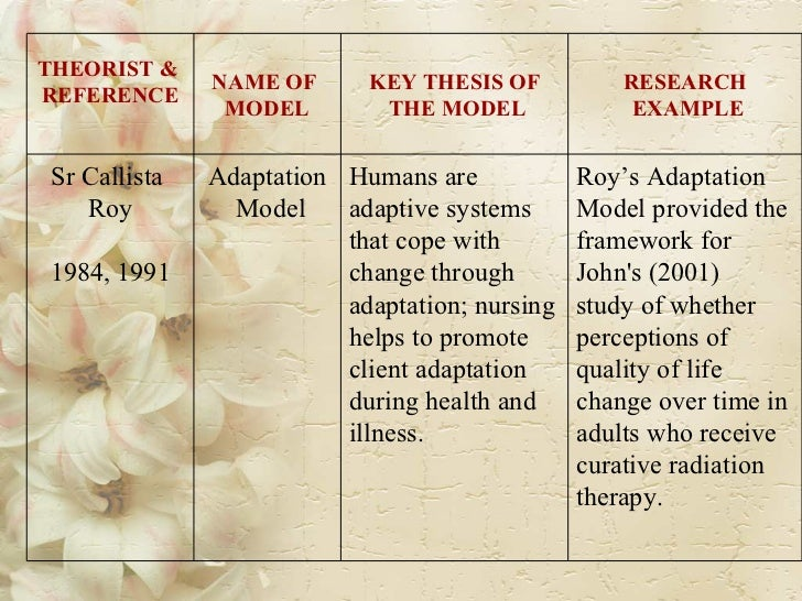 Operational framework for thesis paper
