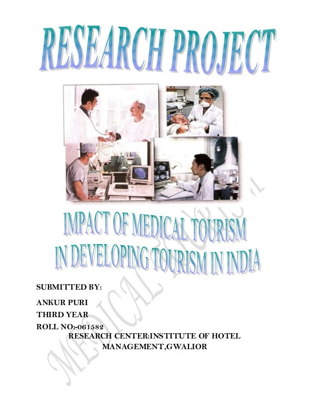 research papers on medical tourism in india