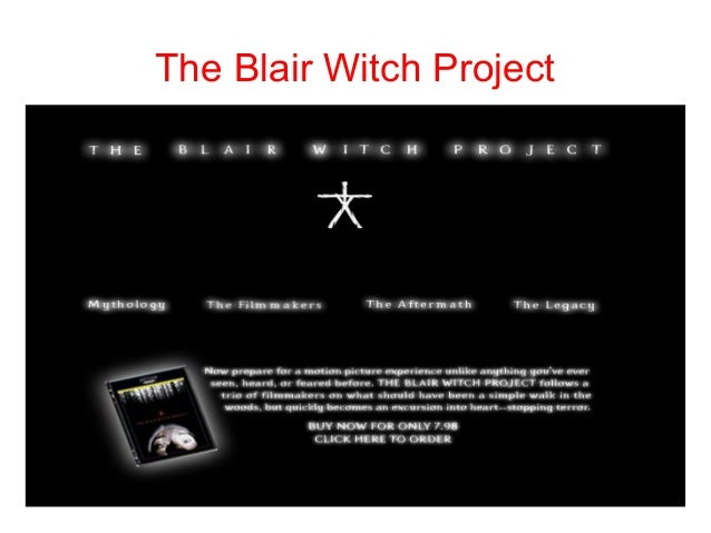 Research Presention: The Blair Witch Project
