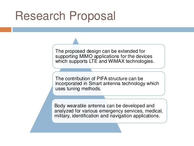 Phd proposal structure