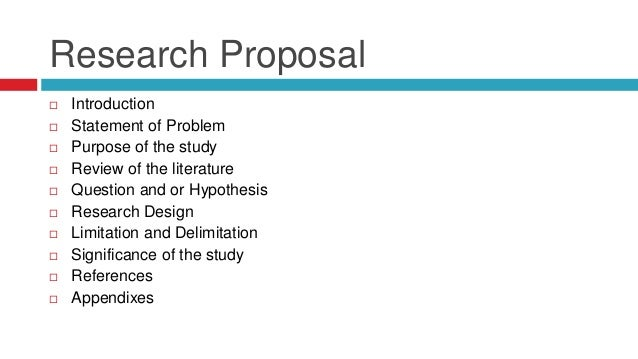 Nursing easy research proposal