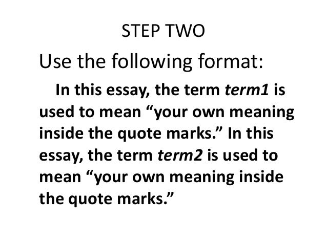 quotes or italics for essays