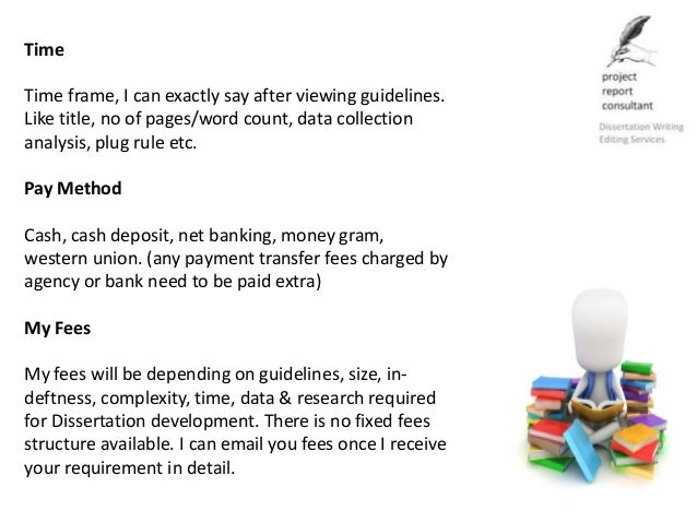 Dissertation writing for payment research proposal