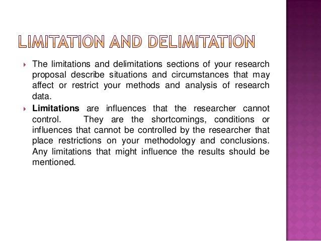 delimitation thesis