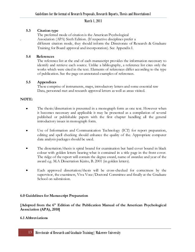 Dissertation On Autobiography