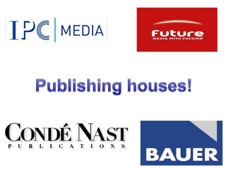IPC Media publish a range of different magazines. Here are                                    some of the more popular one...