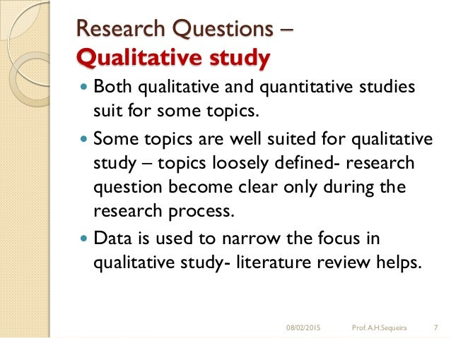 Develop Research Questions Dissertation