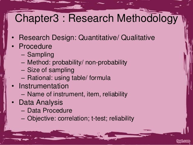 Methods of research and procedures thesis