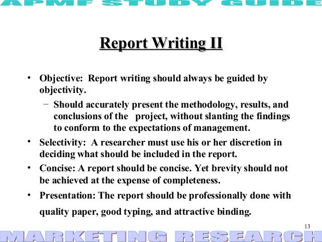 Report Writing | SkillsYouNeed