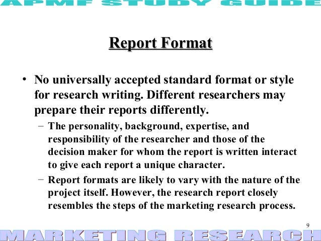 types of research report A document prepared by an analyst or strategist who is a part of the investment research team in a stock brokerage or investment bank a research report may focus on a specific stock or industry sector, a currency, commodity or fixed-income instrument, or even on a geographic region or country.