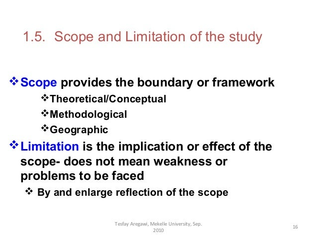 scope in research paper The process described here simplifies choosing a topic for a research paper and choosing and narrowing a topic to topic or scope of your research.