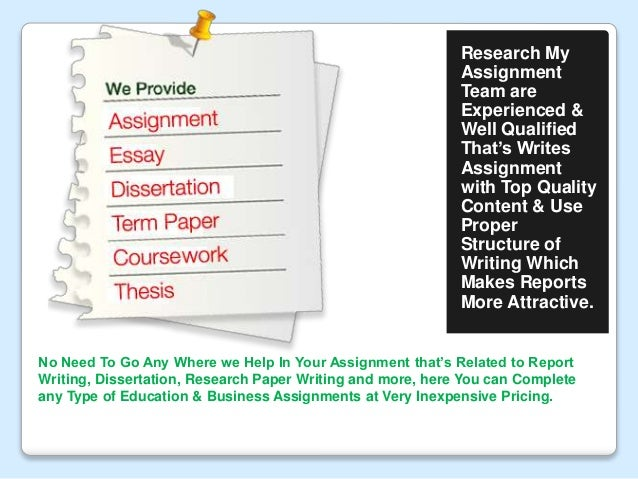 term paper assignments