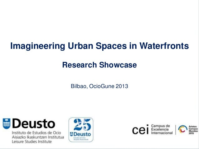 Research showcase waterfront