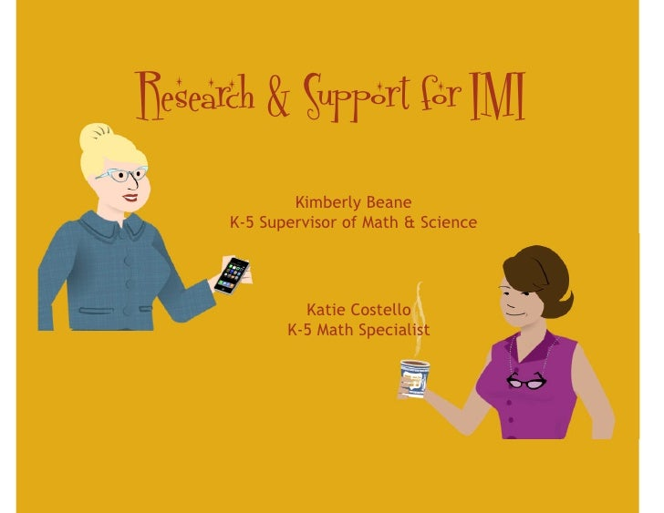 Research & Support for IMI