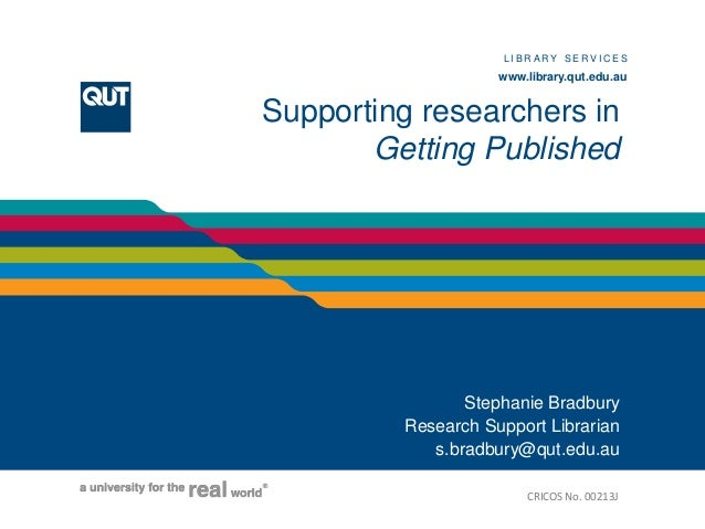 LIBRARY SERVICES                                                                           www.library.qut.edu.auD I V I S...