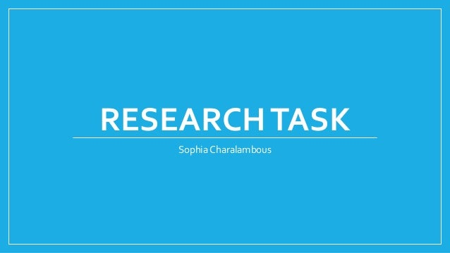 task 1 what is research Do not assume that choosing a research problem to study will be a quick or easy task you should be thinking about it at the start of the course there are generally three ways you are asked to write about a research problem: 1) your professor provides you with a general topic from which you study a.