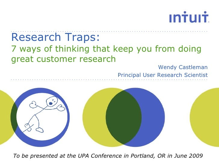 Research Traps: 7 ways of thinking that keep you from doing great customer research                                       ...