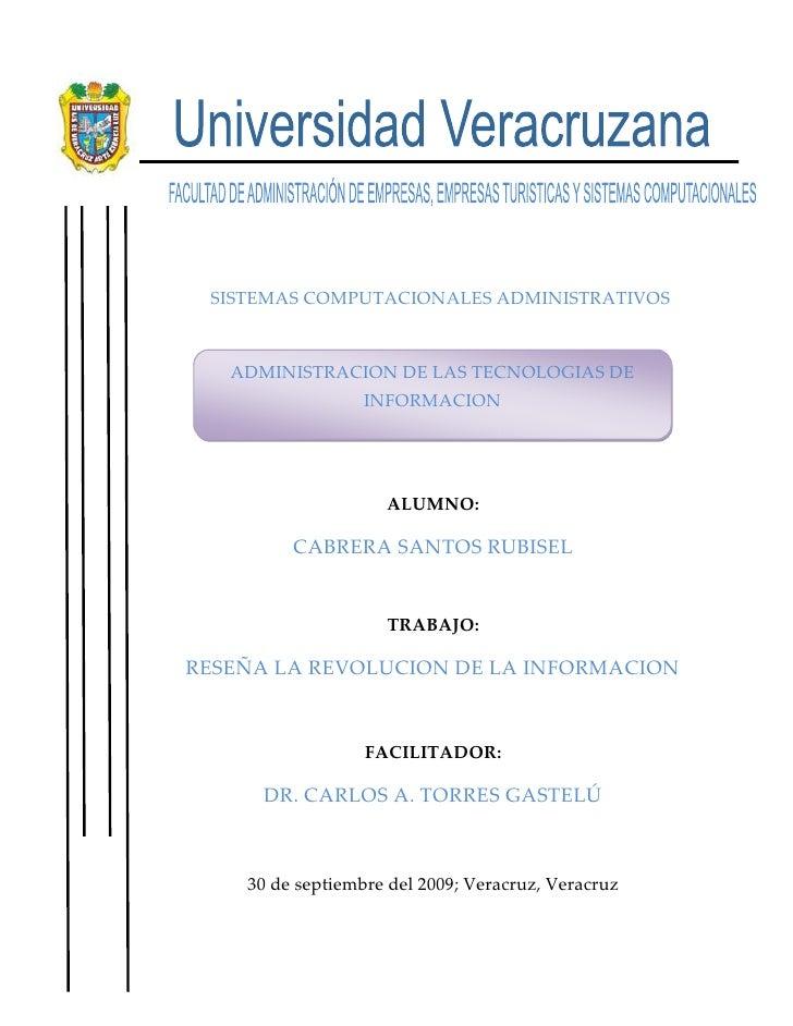 -824230-509905                 <br />                 SISTEMAS COMPUTACIONALES ADMINISTRATIVOS<br />ADMINISTRACION DE LAS ...