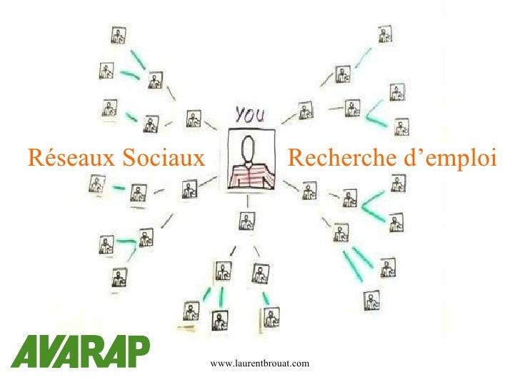 Réseaux Sociaux et Recherche d'emploi Pour Bernard Rolland Réseaux Sociaux Recherche d'emploi