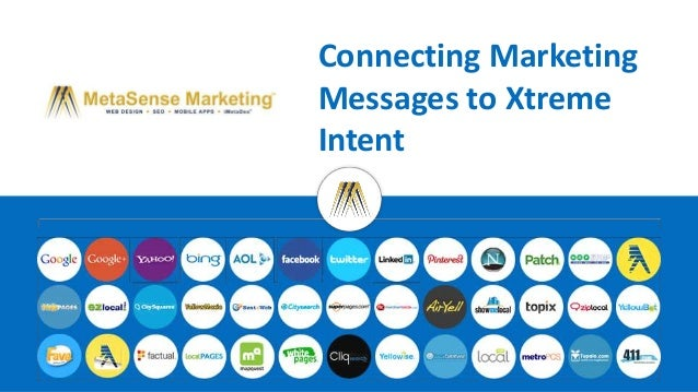Connecting Marketing  Messages to Xtreme  Intent