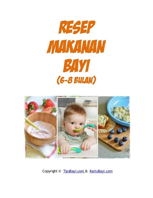 Resep Makanan Bayi 6 Bulan Dari Wortel