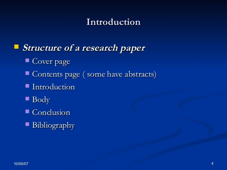 How to write academic papers