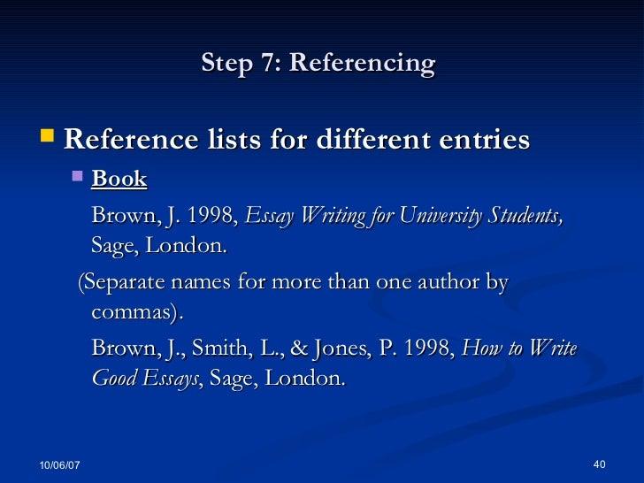 Characteristics Of Writing An Essay