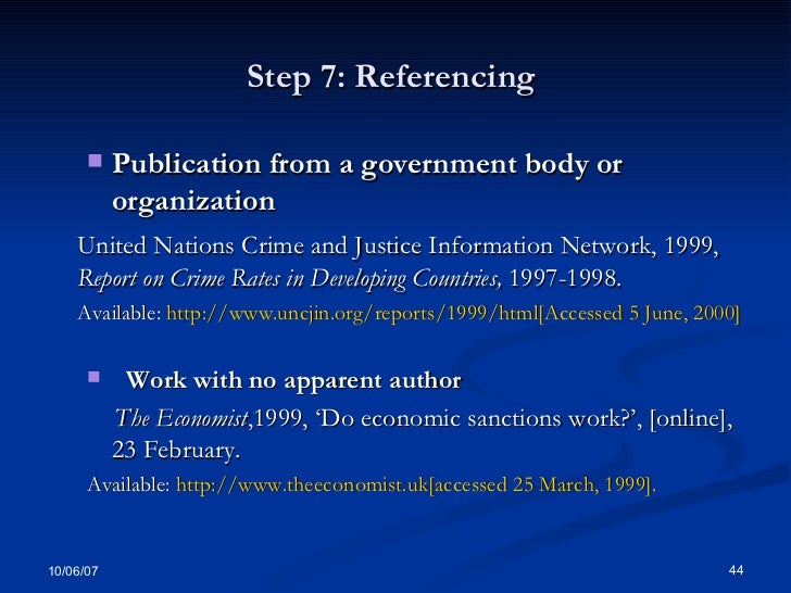 referencing history essays All academic essays must contain references referencing guards against plagiarism, a serious academic offence.