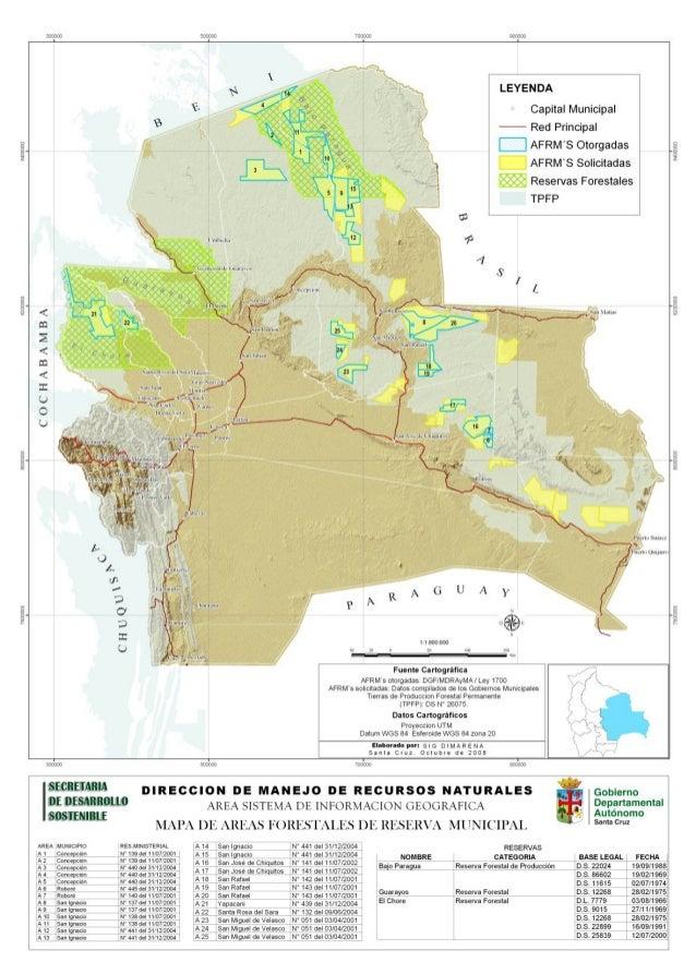 Reserva Forestal Guarayos