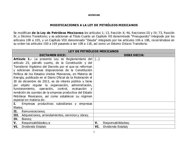 Reserva Ley de PEMEX_diputados revisora 22 de julio
