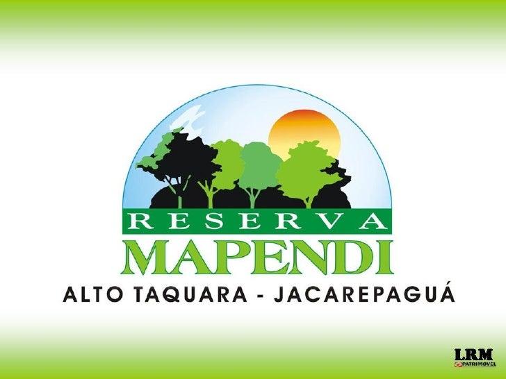 Reserva Mapendi
