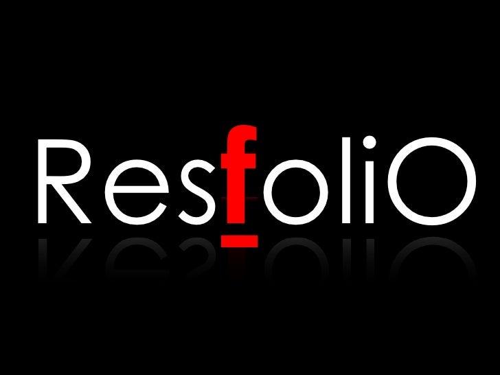 ResfoliO