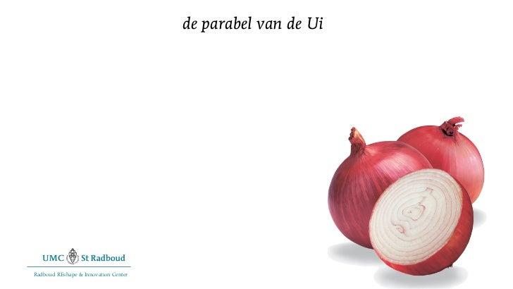 de parabel van de UiRadboud REshape & Innovation Center