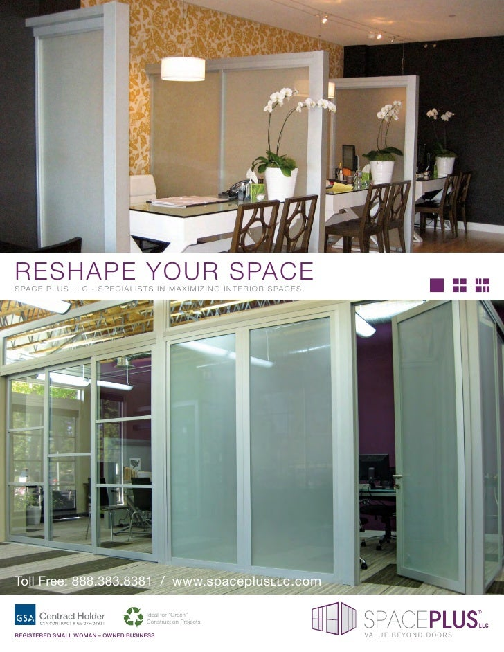 RESHAPE YOUR SPACE SPACE PLUS LLC - SPECIALISTS IN MAXIMIZING INTERIOR SPACES.     Toll Free: 888.383.8381 / www.spaceplus...