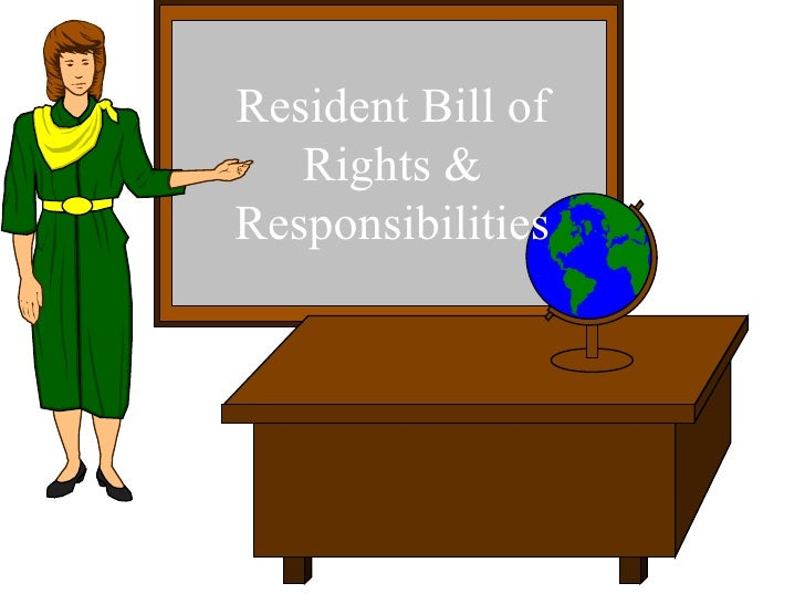 Resident Bill of Rights & Responsibilities