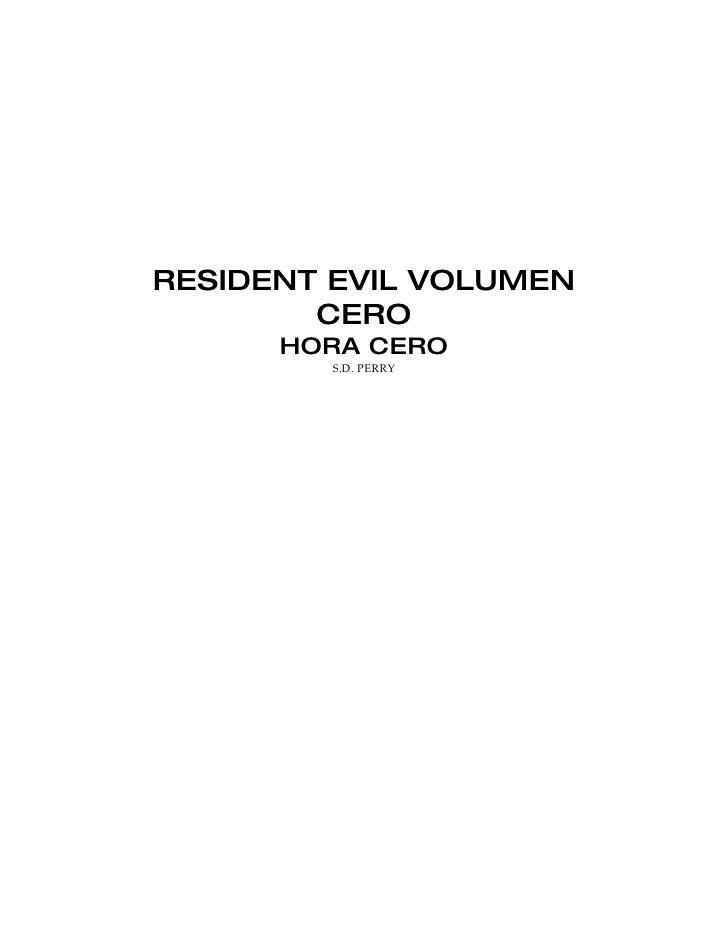 Resident Evil 0   Hora Cero