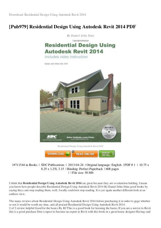 Residential Design Using Autodesk Revit  Pdf Download