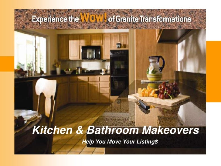 Granite        Transformations         Your One-Stop-Shop         forBathroom Makeovers Kitchen &  Home Makeovers         ...