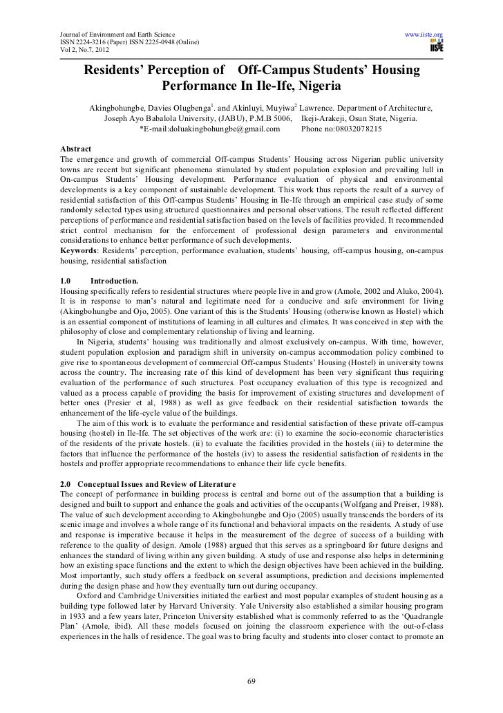 Journal of Environment and Earth Science                                                                  www.iiste.orgISS...