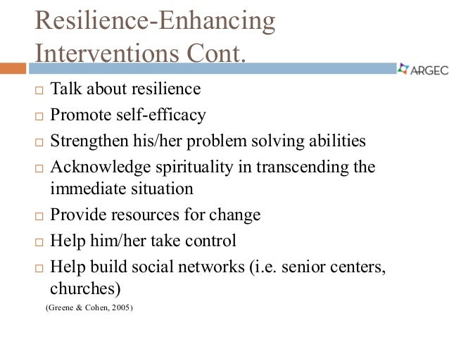 how to build resilience in adults