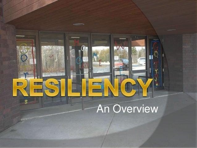 Resilience presentation
