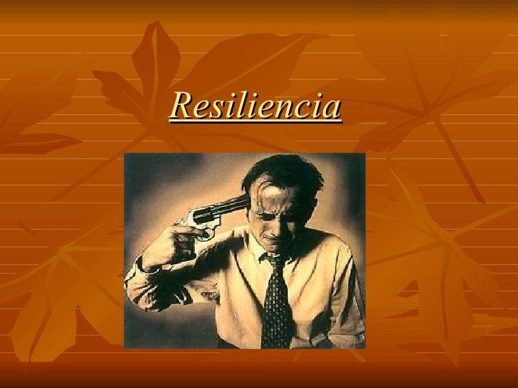 Resiliencia Etica