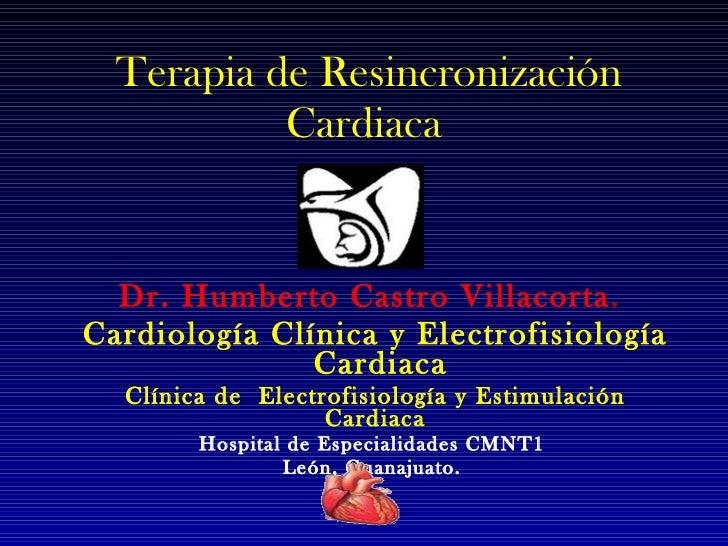 Resincronización Cardíaca